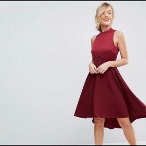 Ted Baker KANDAL Mauve Dress - Ted size 0=US 2